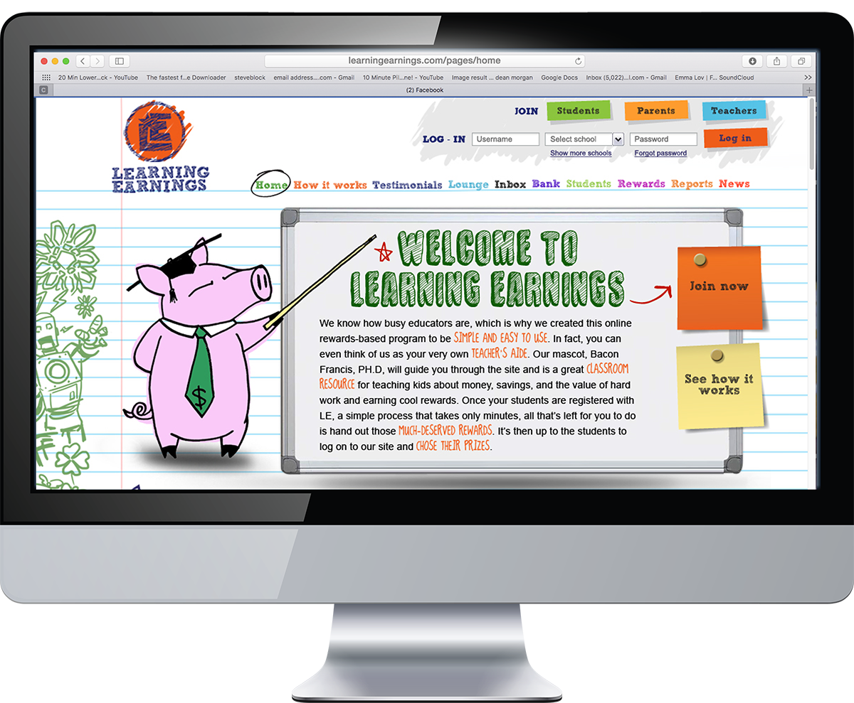 Https Learningearnings Com Pages Home